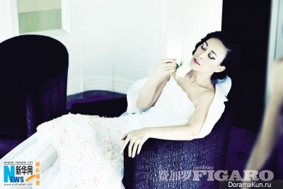 Na Ying для Madame Figaro China July 2013