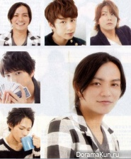 KAT-TUN для Popolo April 2013