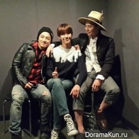 G-Dragon, Taeyang и Kwanghee