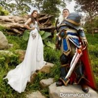 На Тайване геймеры устроили помолвку в стиле World of Warcraft