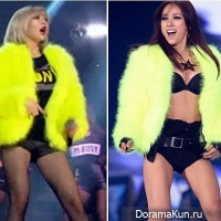 Hyuna vs. Lee Hyori