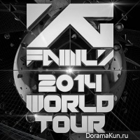 YG Family 2014 World Tour!