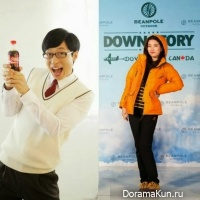 Yoo Jae Suk and Suzy