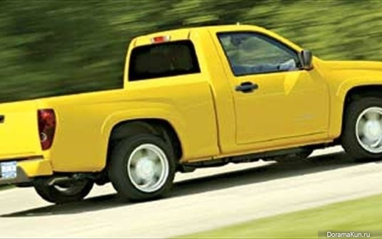 Машина Ын Джи Вон (Chevrolet Colorado Pickup Truck)