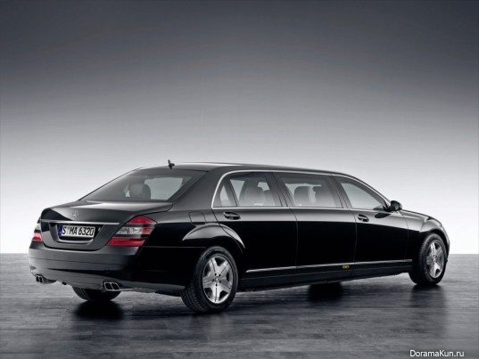 Машина Чон Чун Хо (Mercedes-Benz S600 Guard)