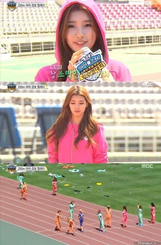 Сюзи из miss A на Idol Star Athletics Championships