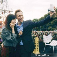 Tiffany and Tom Hiddleston