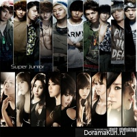 Girls' Generation и Super Junior