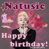 Happy Birthday, Natusic!