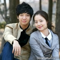 Lee Seung Gi and Moon Chae Won