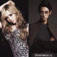 Lizzy and Jung Joon Young