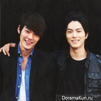 Hong Jong Hyun and Kim Woo Bin