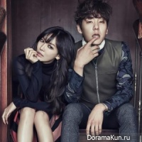 Kwak Si Yang and Kim So Yeon
