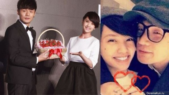 Rainie Yang and Li Rong Hao