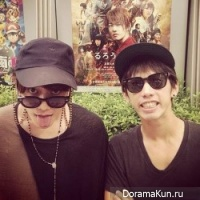 Sato Takeru and Taka
