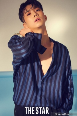Wooyoung (2PM) для The Star August 2017
