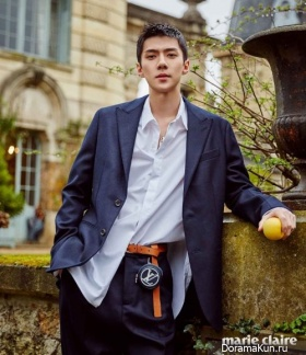Sehun (EXO) для Marie Claire July 2017