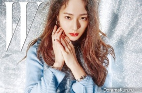 Krystal (f(x)) для W Korea January 2017