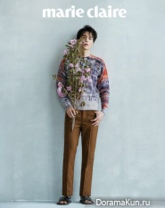 Lee Dong Wook для Marie Claire August 2017