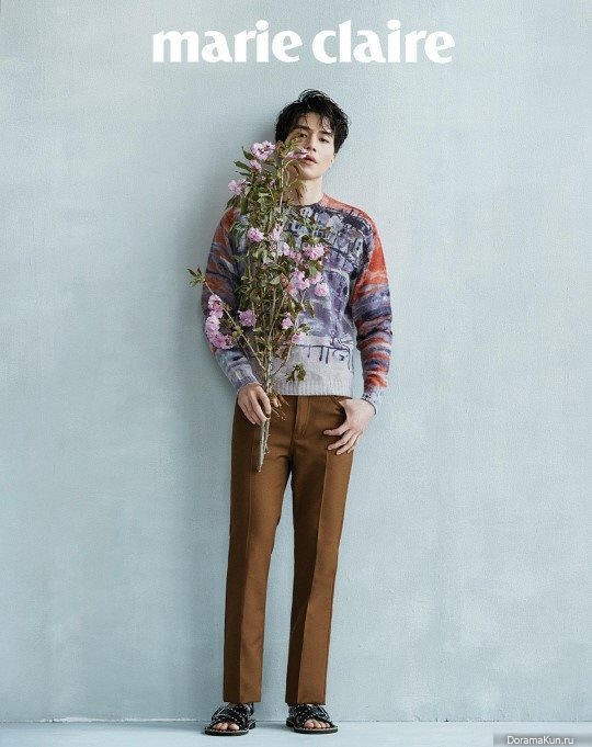Lee Dong Wook для Marie Claire August 2017 - Фотосессии