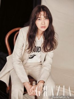 Lee Yo Won для Grazia October 2017