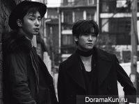 Park Seo Joon, Hyungsik (ZE:A) для Vogue December 2016