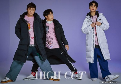Henry (Super Junior), Kian87, Lee Shi Un для High Cut Vol. 206