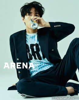 Yesung (Super Junior) для Arena Homme Plus May 2017