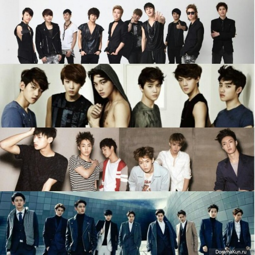 Super Junior, EXO