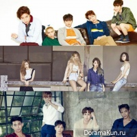 SHINee,Wonder Girls,2PM
