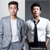 Park Seo Joon and Kang Ha Neul