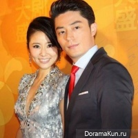 Wallace Huo and Ruby Lin