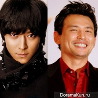 Hwang Jung Min and Kang Dong Won