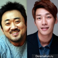 Ma Dong Suk and Kim Young Kwang