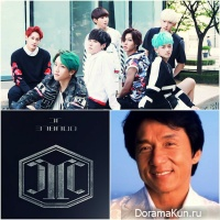 JJCC and Jackie Chan