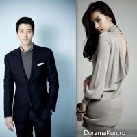 Lee Dong Gun and Jo Yoon Hee