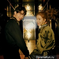 Lee Dong Wook and Yoo In Na