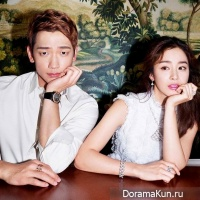 Rain and Kim Tae Hee