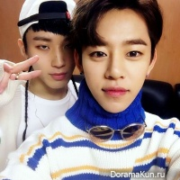 Daehyun and Jongup