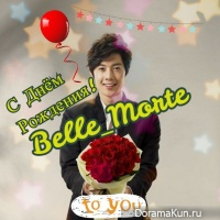 Happy Birthday, Belle_Morte!