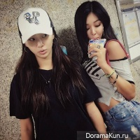 Hyorin and Jessi
