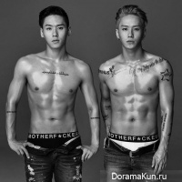 Kwon Young Don and Kwon Young Deuk
