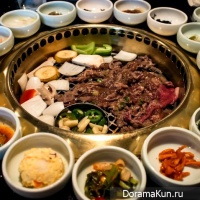 Korean lunch