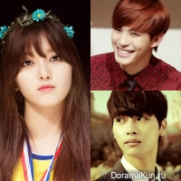 Chanmi, Hongbin and N