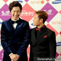 Lee Kwang Soo and Kim Jong Kook