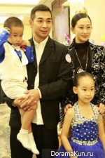 Vincent Zhao with family