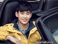 Kim Soo Hyun для Beanpole Outdoor F/W 2015