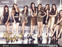 Girls' Generation для Casio