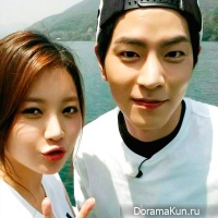 Hong Jong-hyun and Kim Yura