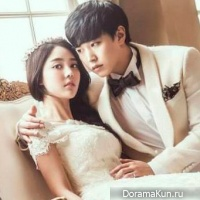 Sungmin and wife Kim Sa Eun